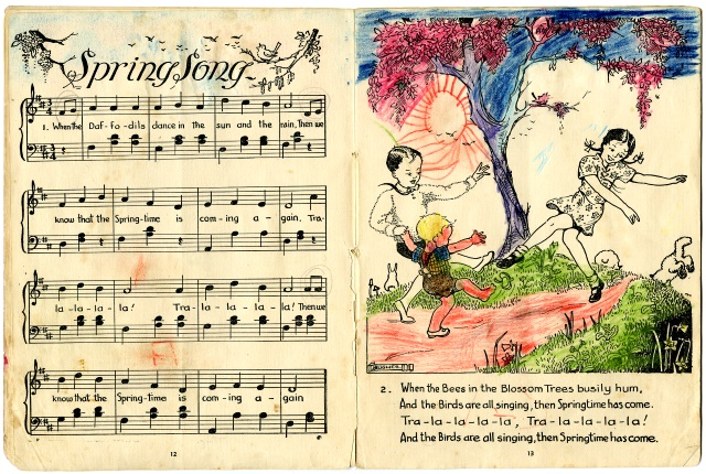 Book, Song -  'Mostly Rhythm, Companion to RHYMES & RHYTHMS'